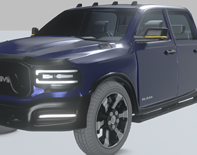 Dodge Ram 2019 3D model