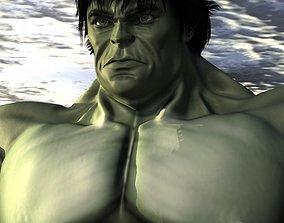 3D model Hulk comics
