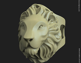 Lion vol2 ring for 3d printing animal