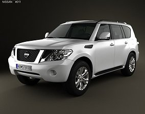 3D model Nissan Patrol 2011