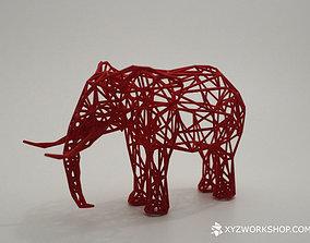 3D printable model Digital Safari - Elephant Small
