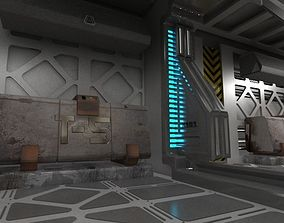 Spaceship indoor 3D model