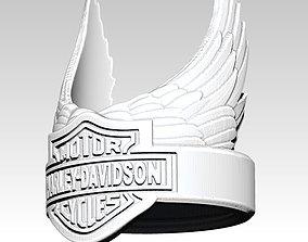 harley-davidson 3D printable model Biker Ring