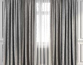Curtain Set 93 3D model