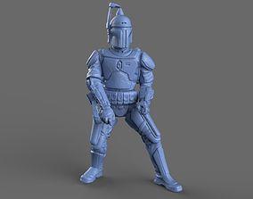 3D model Jango Fett Action Figure