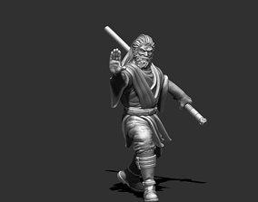 Jedi knight 3D print model - padawan 35 mm scale