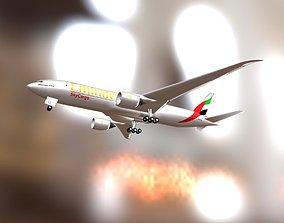 3D asset Emirates SkyCargo Boeing 777F