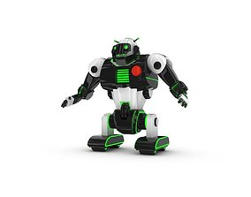 fi 3D Funny Robot Character