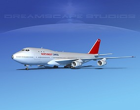Boeing 747-100 Northwest Cargo 3D