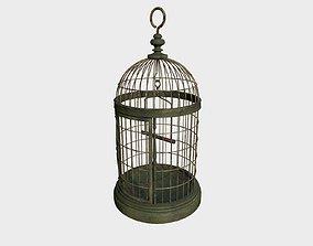 Old Birdcage 3D model