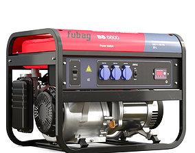 gasoline generator Fubag BS 6600 3D model power