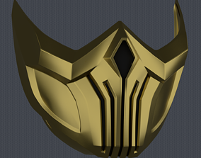 3D print model MK11 Scorpion Mask V2 - STL File