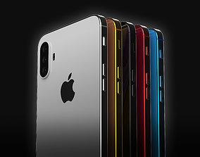 3D model iPHONE XI Concept