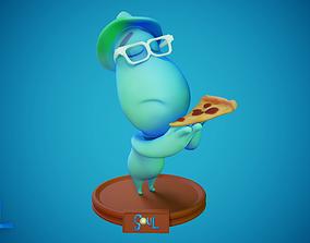 Joe Gardner - Soul Disney Pixar 3D print model - 3D print