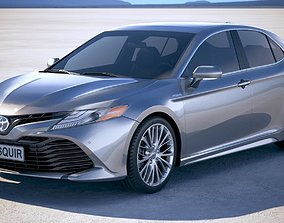 3D model Toyota Camry SE Hybrid 2018