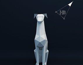 Doberman dog 3D printable model