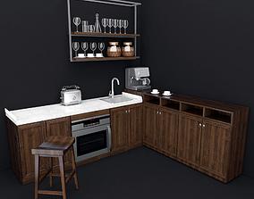 3D Kitchen cooking