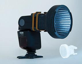 Adaptable Flash Grid for cameras 3D print model