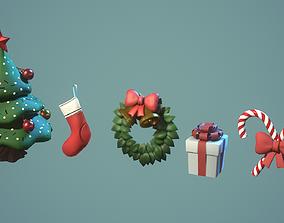 Christmas pack 3D asset