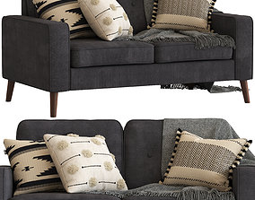 Cult Furniture Madison 3-seater Sofa 3D