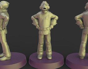 3D printable model Star wars legion general ackbar