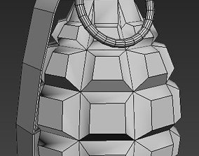 3D model Simple Grenade