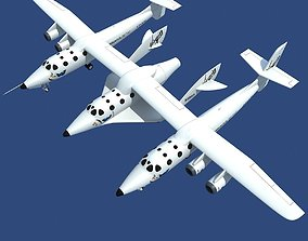 Scaled Composites White Knight Two 3D model
