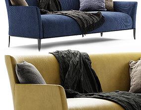 3D model Poliform Gentleman sofa by Marcel Wanders