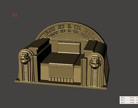 Boba Fett Jabba Palace Throne 3-75 Vintage 3D print model