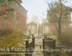 Medieval and Fantasy Set - Game ready 3D asset