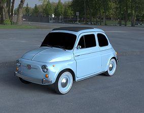 Fiat 500 Nuova 1957 HDRI 3D Model