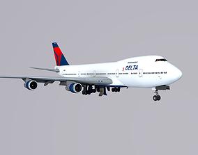 3D model Boeing 747 Delta
