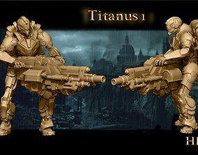 Heresylab Redeemers Titan Robot Team 10 models