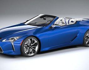 3D Lexus LC 500 Convertible 2021