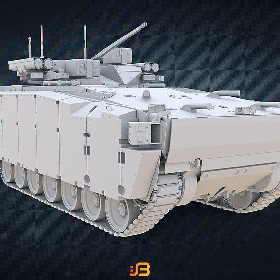 Armoured Personnel Carrier and Infantry Combat Vehicle Kurganets-22
