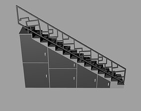 3D model STAIRS CABINET