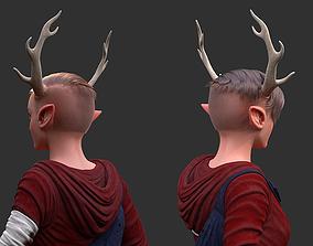 fantasy The Deer Girl 3D model