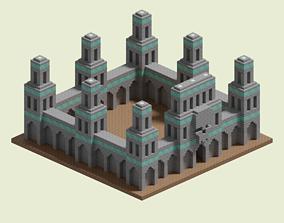 3D model Necropolis Walls