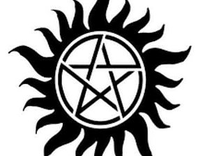 Supernatural Anti-Possession Symbol 3D print model