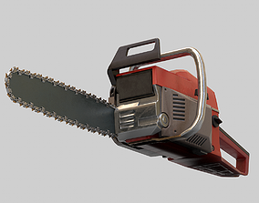 3D asset realtime Chainsaw