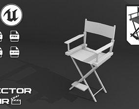 chair 3D Director Chair