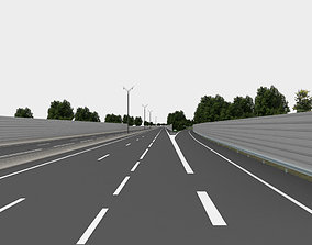 speed highway navigation 3D road