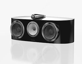 3D model Bowers and Wilkins HTM1 D3 Gloss Black