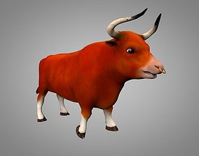 3D asset Bull or bizon