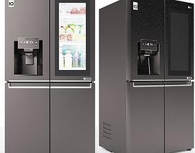 Refrigerator LG GR-X24FTKSB 3D