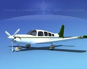 3D Piper Cherokee Six 300 V09