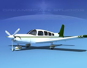 3D Piper Cherokee Six 300 V09