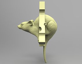 3D print model Mouse Pendant - Christmas tree toy -Home 1