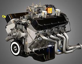 3D model 427 Engine - V8 Muscle Car Engine
