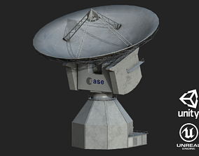 Deep Space Research Antenna 3D model PBR